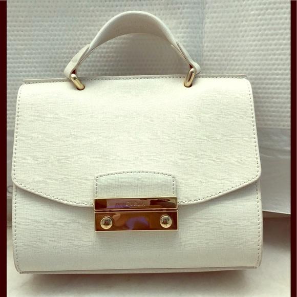 Furla Handbags - Furla Julia Mini Top Handle Bag.